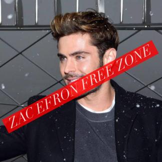 zac efron free zone